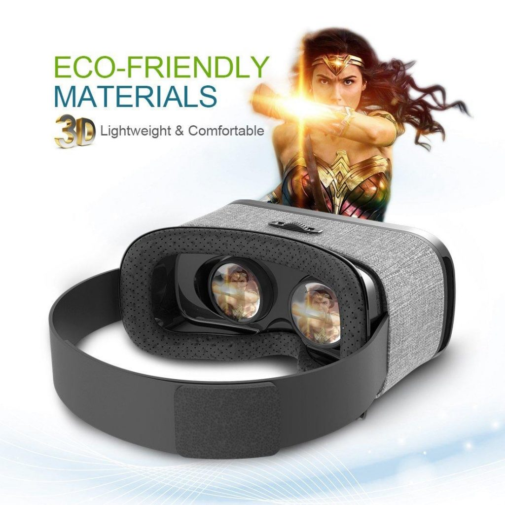 Jizze 3D VR Headset Glasses Review Materials