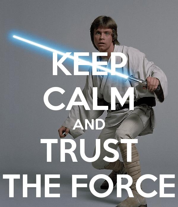 Neurable Keep Calm Trust Force