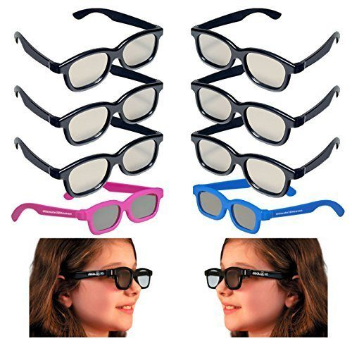 3D Heaven 3D Glasses 8 Pack