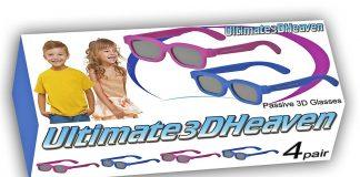 3D Heaven Passive Polarized 3D Glasses for Kids Featured