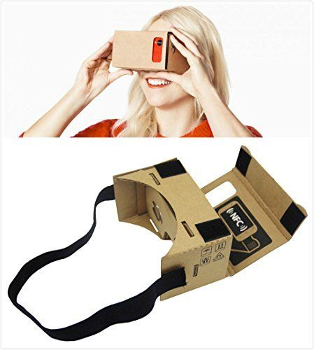 Epple Google Cardboard 3D VR DIY Glasses Featured