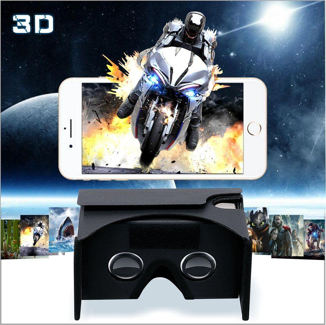 Review Of Gana 3d Vr Headset Glasses Google Cardboard Diy