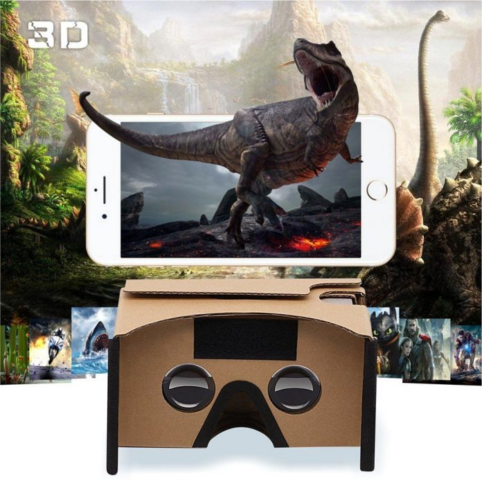 Google Cardboard GANA 3D VR Headset DIY Glasses Featured