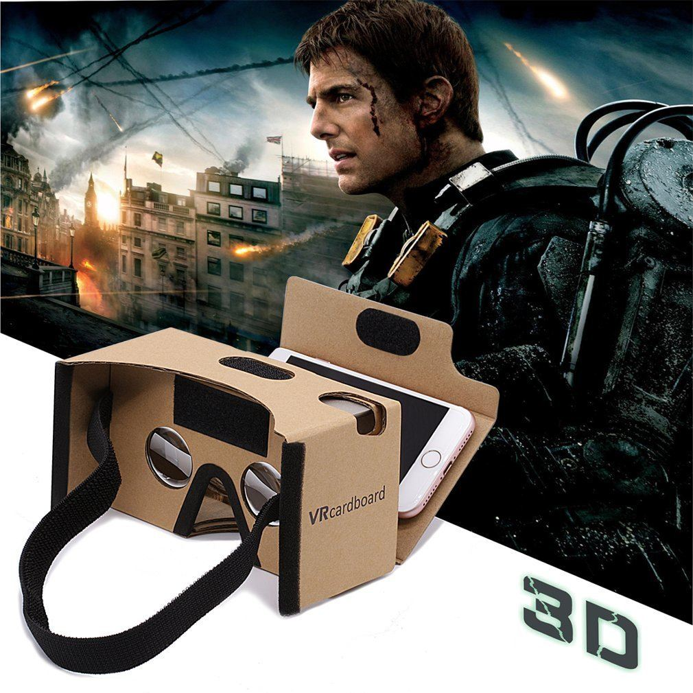 Google Cardboard GANA 3D VR Headset DIY Glasses Immersion
