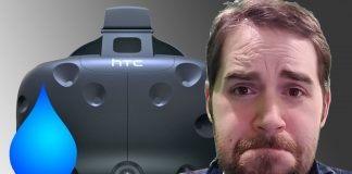 HTC Vive Sweat Damage