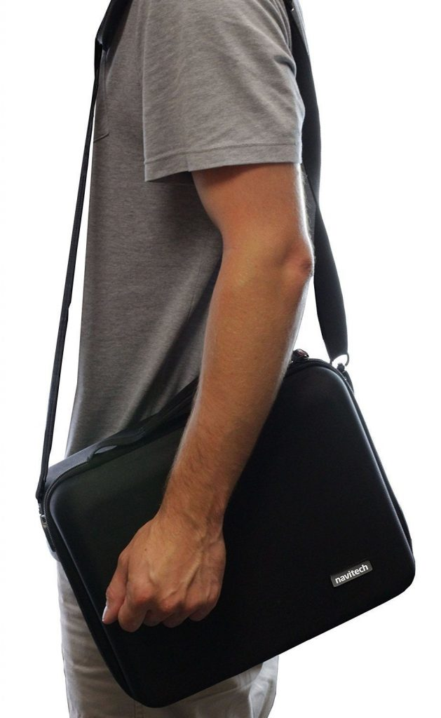 Navitech Hard Carry Bag for 3D VR Headsets Strap
