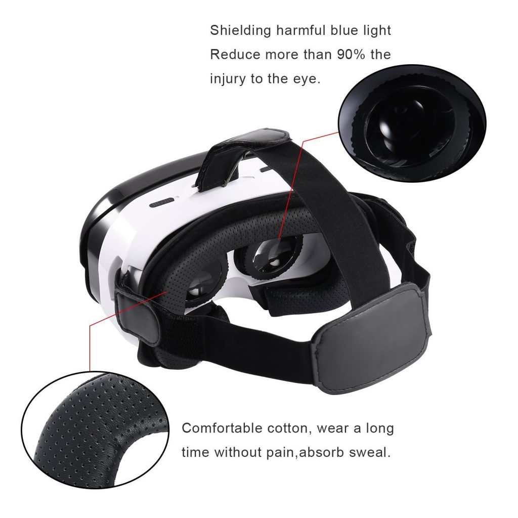 The LESHP 3D VR Glasses Headset Features