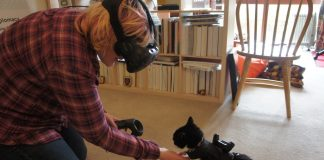 Pet Tracking - Bring your Pet to Virtual Reality