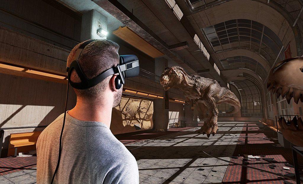 HTC Vive in Virtual reality