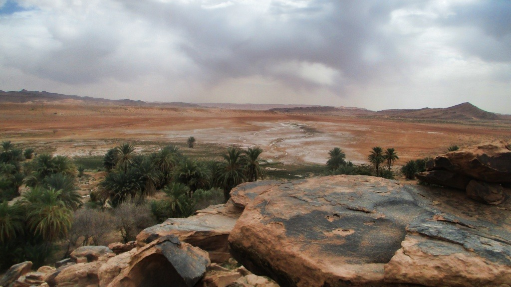VR tourism to the desert