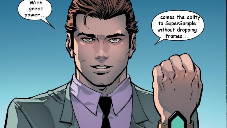 spider man recommends supersampling