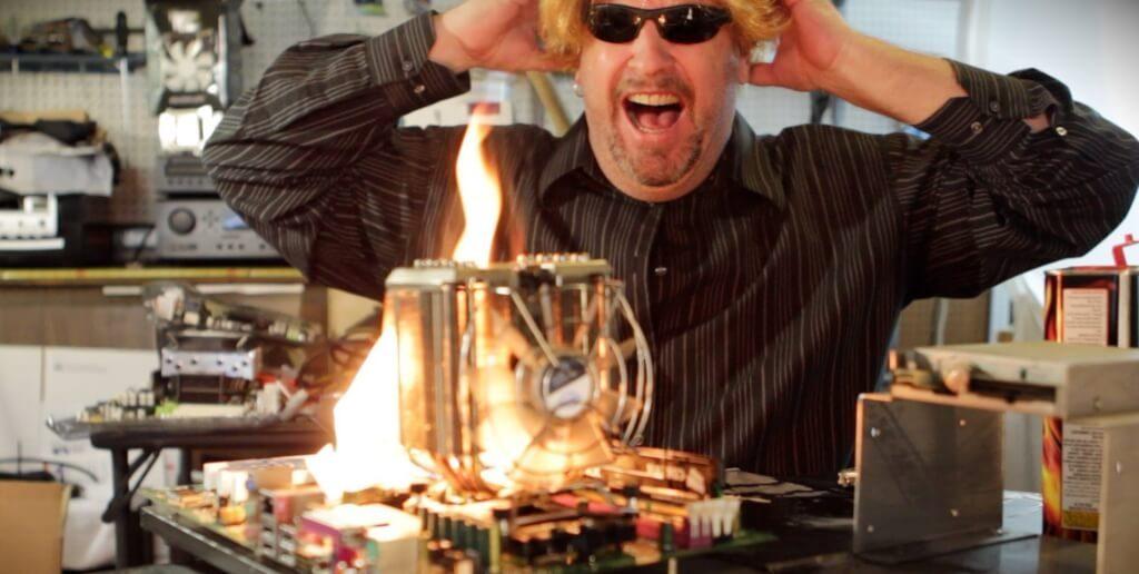 amd processor and heat