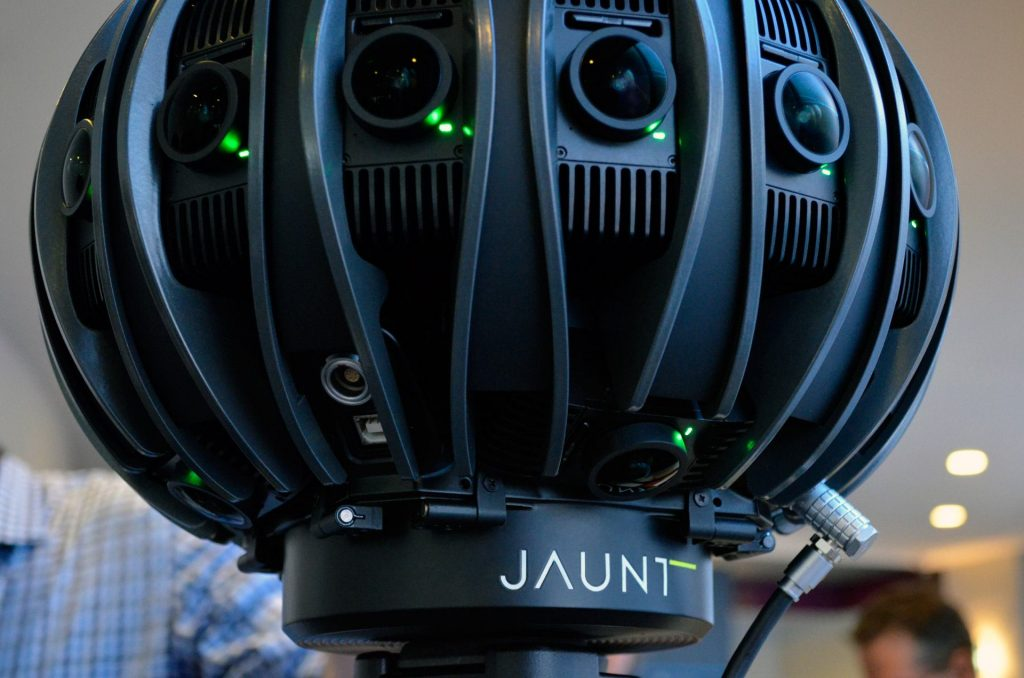 The amazing Jaunt Camera