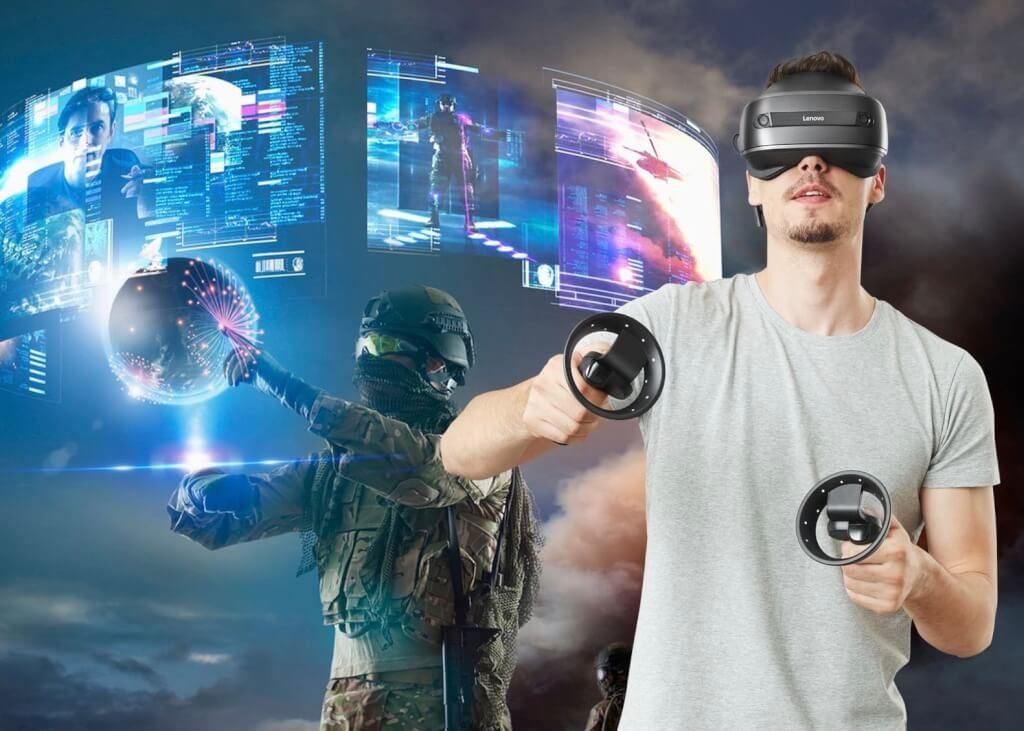 Lenovo-Explorer-mixed reality headset