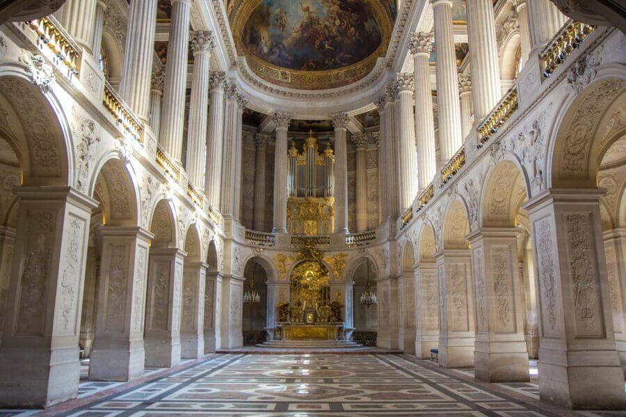 visit in vr Versailles