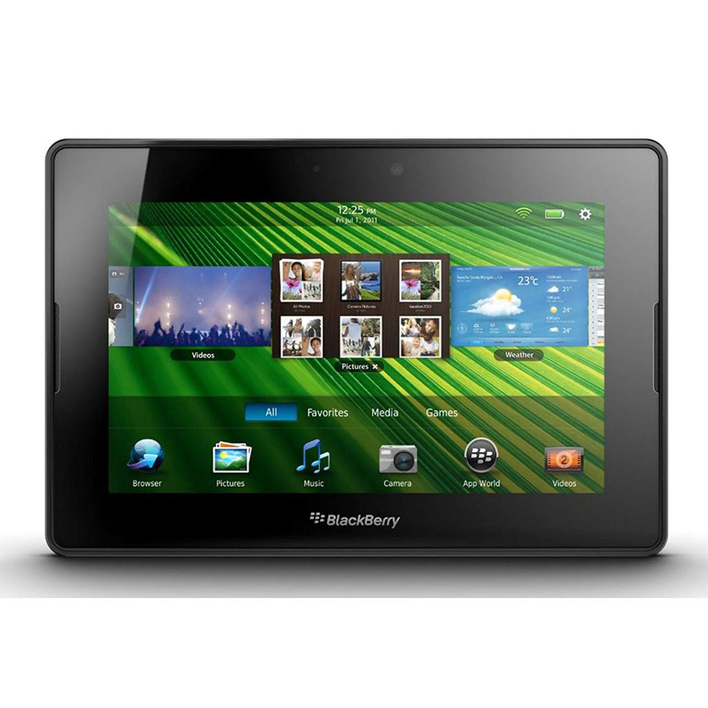 "Blackberry Playbook 16GB (2016 Version) 7"" Multi-Touch Tablet PC with 1 GHz Dual-Core Processor"